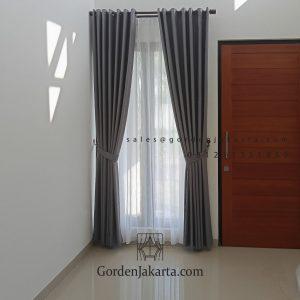 Jual Kain Gorden Semi Blackout Sahara 215 Abu Abu Duren Tiga Pancoran Jakarta ID6688